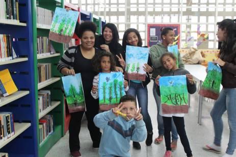 Ilustrando Livros da Biblioteca